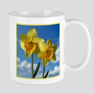 Two yellow Daffodils 2.2 Mugs